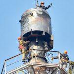 Оренбургский гелиевый завод обновляет факельную систему