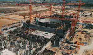 КуАЭС-2, Курская АЭС-2, фундамент турбины №2