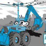 Несогласованные земляные работы – причина нарушения электроснабжения