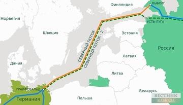 Северный поток-2 карта