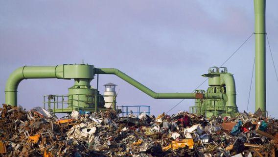 свалка мусор переработка биогаз