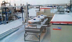 система подготовки попутного газа Западно-Могутлорского нефтяного месторождения