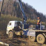 Шквалистый ветер в Кемеровской области вызвал локальные нарушения в электросетях