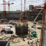 На стройплощадке  Курской АЭС-2 установлен на штатное место каркас шахты реактора