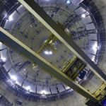 На Ленинградской АЭС испытали полярный кран энергоблока №6