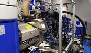 стенд для испытания двигателей Камаз