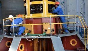 гидроагрегат Аушигерская ГЭС
