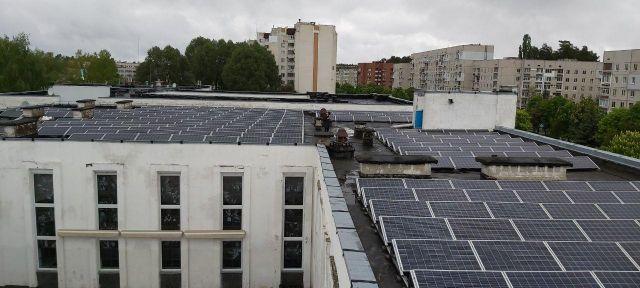 крышные солнечные станции