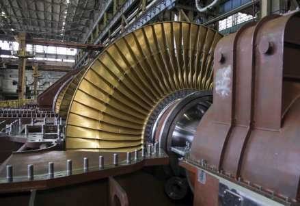 газовая турбина лопатки