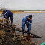В Усинске и Заполярном районе отменен режим ЧС, введенный из-за разлива нефтепродуктов на Харьягинском месторождении