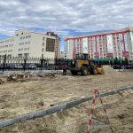 Яблоневый сад и Аллея Памяти и Славы создадут энергетики Сургута