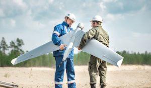 дрон Газпром нефть
