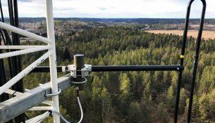 антенна связи на опоре