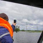В Нижневартовском района ХМАО-Югры продолжает расти уровень Оби – в зоне риска подтопления 68 опор ЛЭП