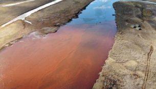 Разлив топлива в Норильске