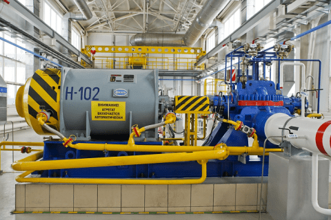 электродвигатель магистрального насосного агрегата ЛПДС «Староликеево»