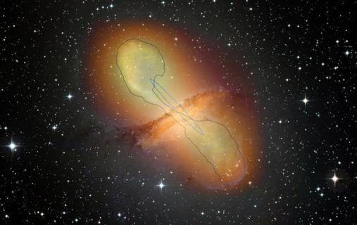 космос черная дыра