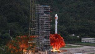 старт ракеты китай