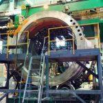 Петрозаводскмаш выполнил сборку и термообработку полукорпуса компенсатора давления для АЭС «Аккую»