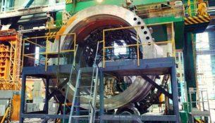 полукорпус реактора для АЭС Руппур
