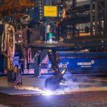 Судоверфь «Звезда» приступила к резке стали для танкеров-газовозов СПГ ледового класса
