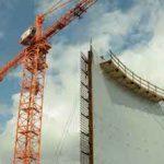 Здание реактора №1 Курской АЭС-2 «выросло» до отметки 36 м