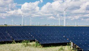 солнечные панели ветряки