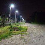 Новые уличные фонари появились на Вечном Хуторе  Саратовской области