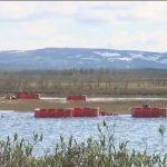 В Норильске налажена схема откачки разлившихся нефтепродуктов
