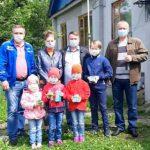 Сотрудники Курскэнерго поздравили многодетные семьи и воспитанников детского дома с Днем защиты детей