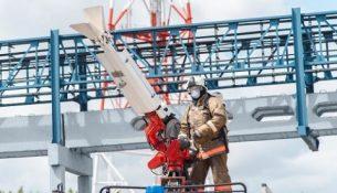 пожарные учения омский нпз