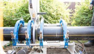 газовая труба строительство