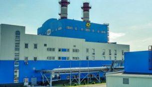 газотурбинная установка Курской ТЭЦ