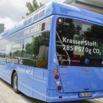 В Германии запустили водородные автобусы, которые получают энергию от мусора