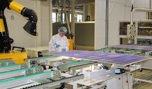 Завод по производству солнечных ячеек и модулей