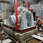 На строящемся энергоблоке №1 Курской АЭС-2 установлено первое технологическое оборудование