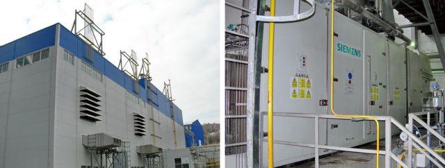 Газотурбинная электростанция Сенгилеевского цементного завода: