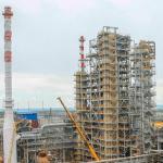 На ТАНЕКО завершается строительство полностью отечественной установки каткрекинга