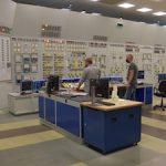 Полномасштабный тренажер на Запорожской АЭС является аналогом блочного щита управления энергоблока №3