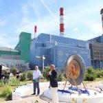 Шатурская ГРЭС отметила 100-летие открытием нового экспоната музея под открытым небом