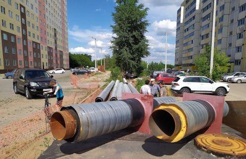трубы ремонт теплотрассы
