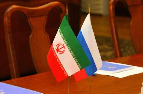 флаг россия иран