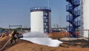 тренировка учения по ликвидации разлива нефти