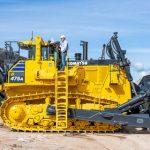Карьер «Нарва» принял в эксплуатацию самый большой в Европе 113-тонный бульдозер