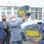 Шахта «Распадская» добыла 3 млн тонн угля с начала 2020 года