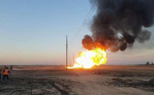 взрыв газапровода
