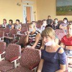Великобелозерцев волнуют пост радиационного контроля и оповещение в случае ЧС от Запорожской АЭС