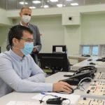 Эксперты ВАО АЭС проверили работу персонала блочного пункта управления Белоярской АЭС