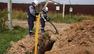 земляные работы прокладка газовой трубы