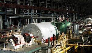 Ефремовская ТЭЦ турбина